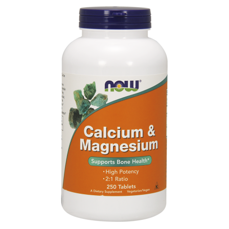NOW Foods Calcium & Magnesium 250 tab.