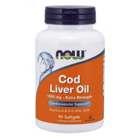 NOW Foods Cod Liver Oil 1000 90 softgels