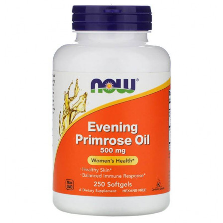 Now Foods Evening Primrose Oil 500 mg. 250 softgels
