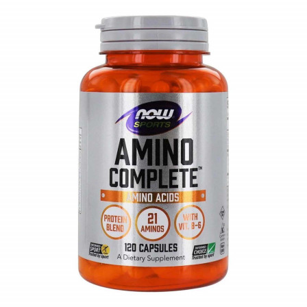 Now Foods Amino Complete 120 caps.