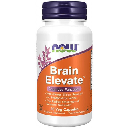 Now Foods Brain Elevate 60 vcaps.