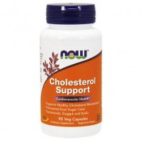 NOW Foods Cholesterol Support 90 Veg Caps.