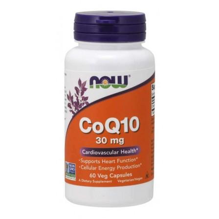 Now Foods CoQ10 30 mg 60 veg caps.