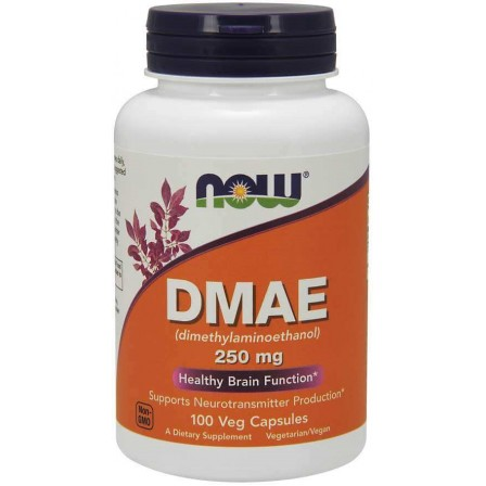 NOW Foods DMAE (Dimethylaminoethanol) 250mg 100 Veg Capsules