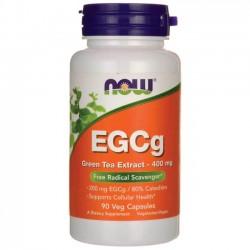 NOW Foods EGCg Green Tea Extract 400 mg 90 Veg Capsules