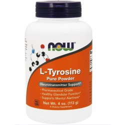 Now Foods L-Tyrosine Pure Powder 113 gr.