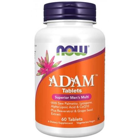 NOW Foods ADAM Mens Vitamins 60 tabs