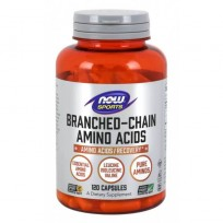 NOW Foods Branched Chain Amino Acids 120 caps.
