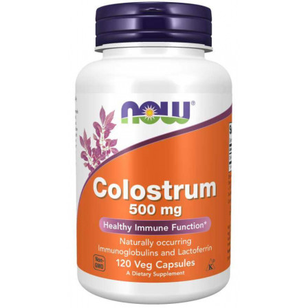 Now Foods Colostrum 500 mg 120 vcaps.