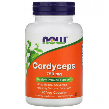 Now Foods Cordyceps 750 mg. 90 vcaps.