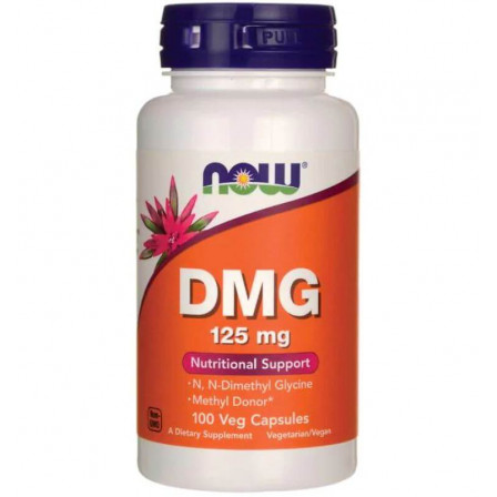 Now Foods DMG (Dimethylglycine) 100 vcaps.