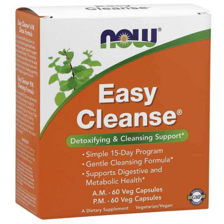 Now Foods Easy Cleanse 2 x 60 vcaps.