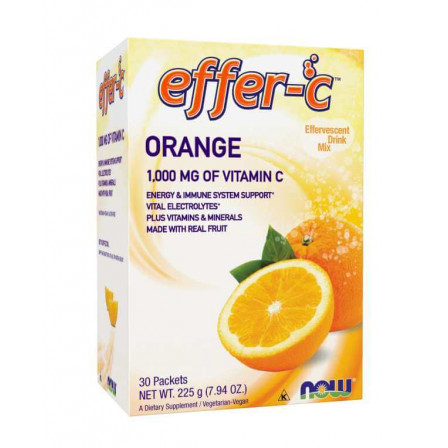 Now Foods Effer-C 30 Packets