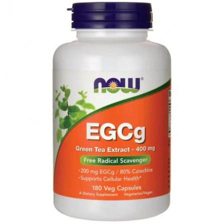 NOW Foods EGCg Green Tea Extract 400 mg 180 Veg Capsules