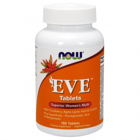NOW Foods EVE 180 tabs.