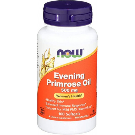 Now Foods Evening Primrose Oil 500 mg. 100 softgels