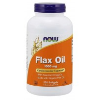 NOW Foods Flax Oil 1000mg 250 caps.