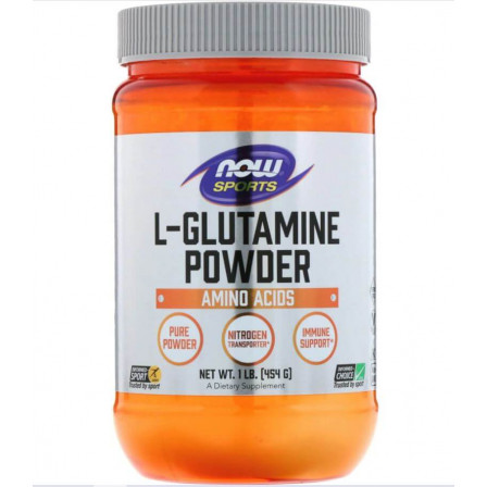 NOW Foods L-Glutamine Powder 454 gr.