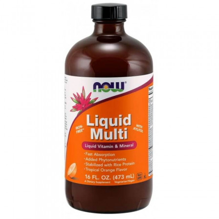 Now Foods Liquid Multi 454 gr.