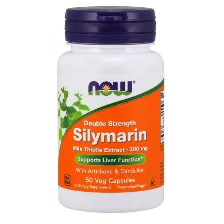 Now Foods Silymarin with Artichoke & Dandelion 50 veg caps.