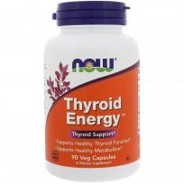 NOW Foods Thyroid Energy 90 Veg Capsules