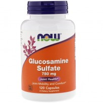 NOW Foods Glucosamine Sulfate 750mg 120 caps.