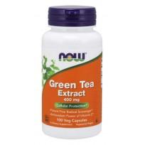 NOW Foods Green Tea Extract 400 mg. 100 veg caps.