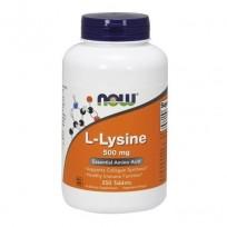NOW Foods L-Lysine 500mg 250 tab.