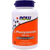 Now Foods L-Phenylalanine 500mg 120 veg caps.