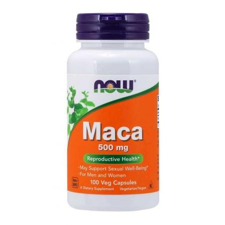 Now Foods Maca 500mg 100 veg caps.