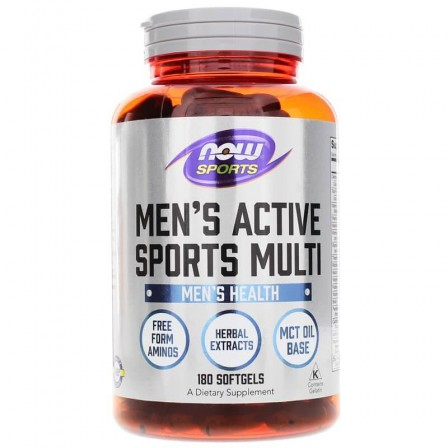 NOW Foods Mens Extreme Sports Multivitamin 180 Softgels