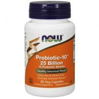 Now Foods Probiotic-10 25 Billion 50 veg caps.