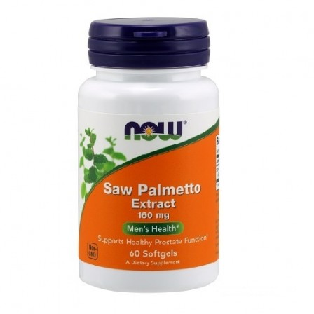 NOW Foods Saw Palmetto 160 mg. 60 softgels