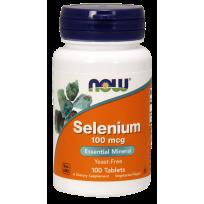 NOW Foods Selenium 100mcg 100 tabs.