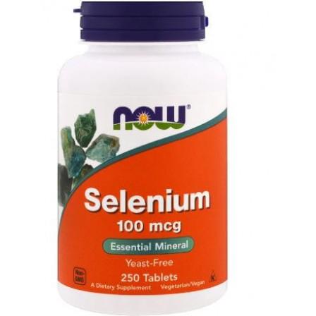 NOW Foods Selenium 100mcg 250 tabs.