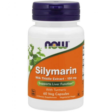 Now Foods Silymarin Milk Thistle Extract 150mg 60 veg caps.