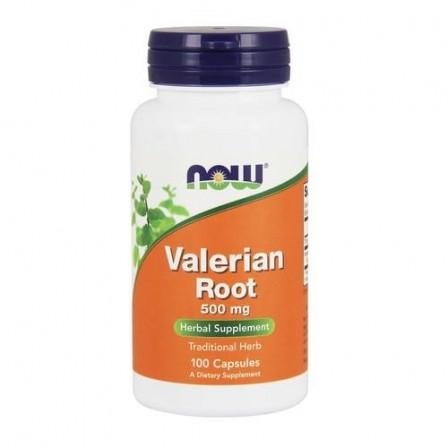 NOW Foods Valerian Root 500 mg. 100 caps.