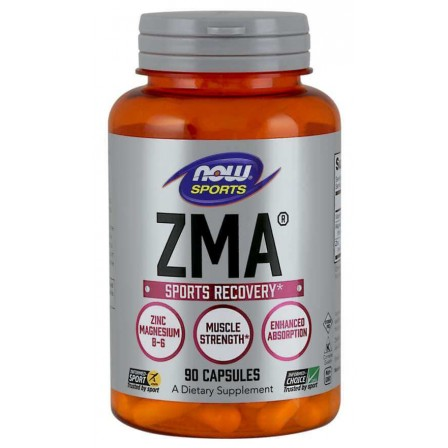 NOW Foods ZMA Sports Recovery 90 caps.