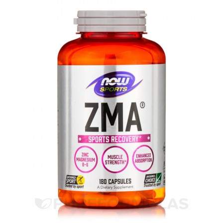 NOW Foods ZMA Sports Recovery 180 caps.