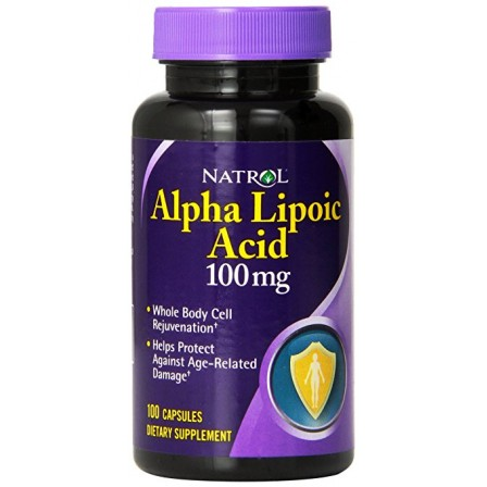 Natrol Alpha Lipoic Acid  100mg 100caps