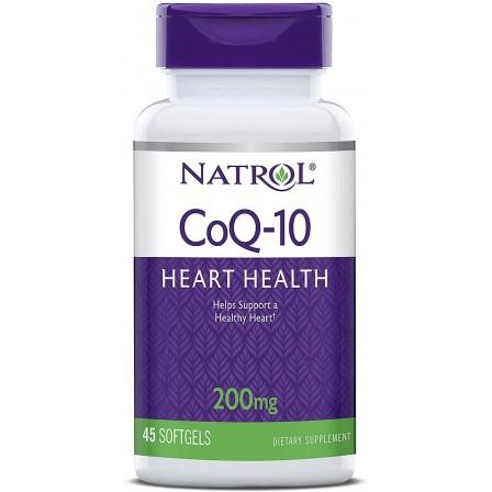 Natrol CoQ-10 200 mg. 45 softgels