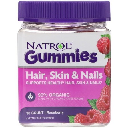 Natrol Hair, Skin & Nails 90 Gummies