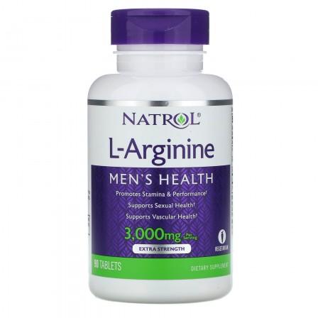 Natrol L-Arginine 3000 90 tabs.