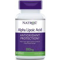 Natrol Alpha Lipoic Acid 300 mg 50 caps.