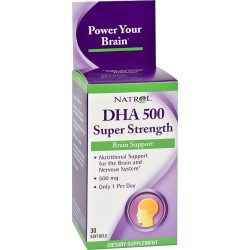 Natrol DHA 500 Super Strength 30 softgels