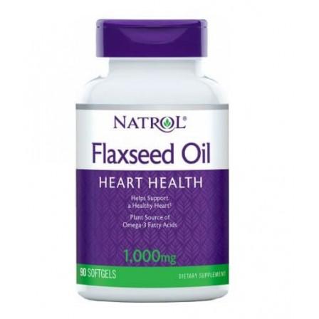 Natrol Flaxseed Oil 1000 mg 90 Softgels