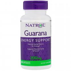 Natrol Guarana 200 mg 90 caps.