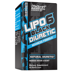 Nutrex Lipo 6 Black Diuretic 80 caps.