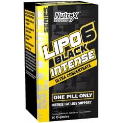 Nutrex Lipo-6 Black Ultra Intense Concentrate 60 caps.