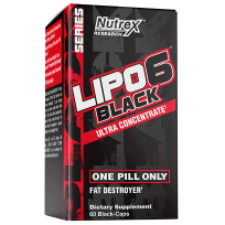Nutrex Lipo 6 Black Ultra Concentrate 60 caps.